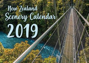 Scenery calendar cover